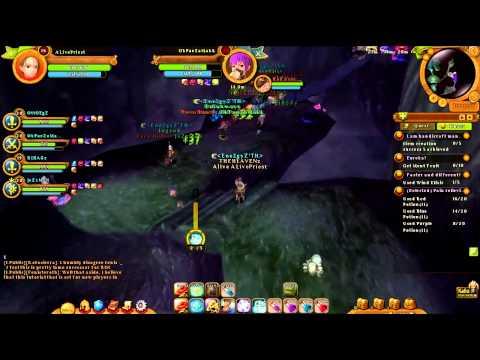 [Ragnarok Online 2 Sea Server] : Killing Grand Peco & Red Scar - By Enel2Gy'z TH