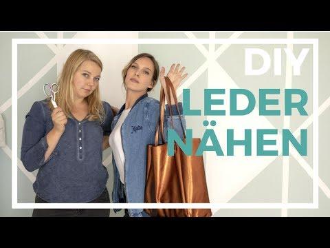 Tasche Aus Leder Im American Apparel Style Nähen | Nähen Für Dummies: Leder