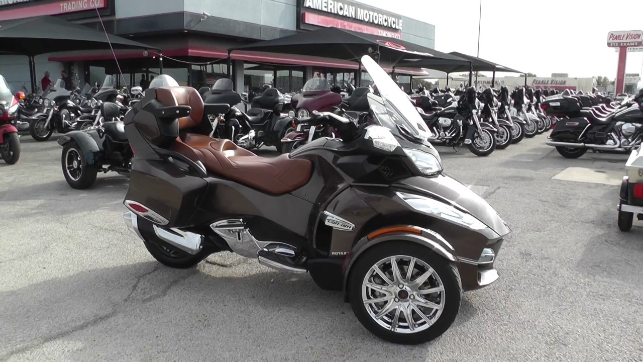 005888 - 2013 Can Am Spyder RT SE5 Limited - Used motorcycles for ...