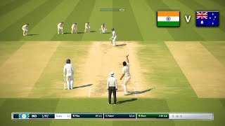 India vs Australia 2nd Test 2018 Day 1 - Ashes Cricket