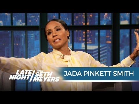 Jada Pinkett Smith on Working with the Hot Men of Magic Mike XXL - Late Night with Seth Meyers