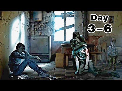 阿津『This War Of Mine 屬於我的戰爭 Day 3-6』良心的考驗