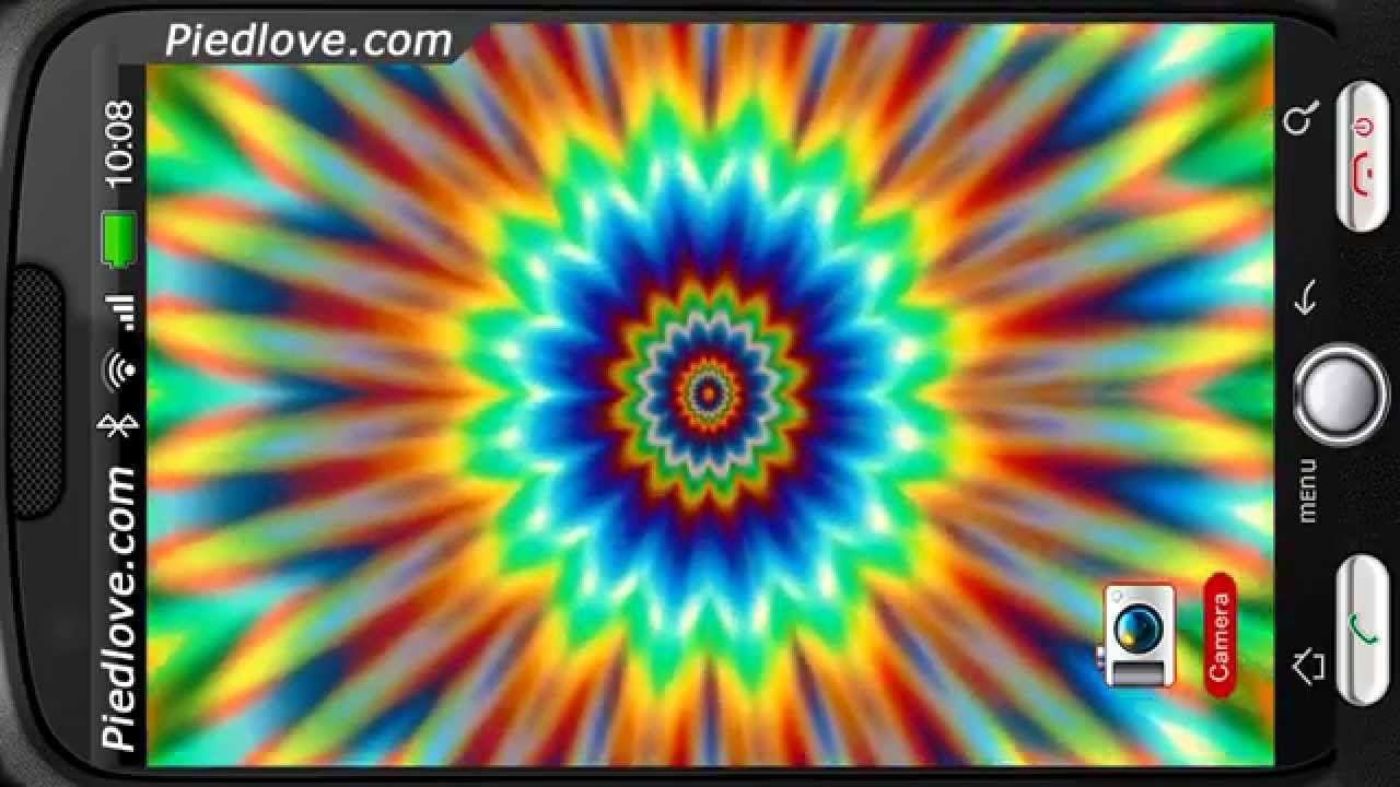 Magic Flower Power Pulsating Deluxe HD Edition 3D Live Wallpaper For Android