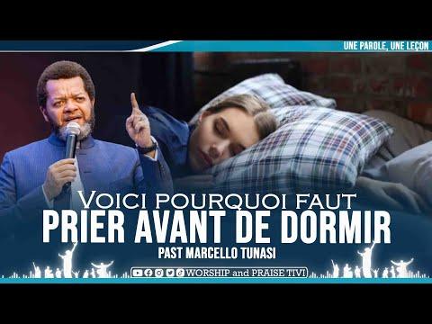 PAST MARCELLO TUNASI   VOICI POURQUOI FAUT PRIER AVANT DE DORMIR