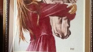 Девочка с лошадью СВ-016 Золотое Руно