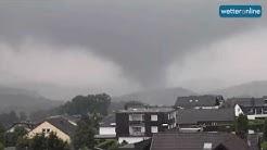 wetteronline.de: Tornado wütet bei Köln (29.07.2016)