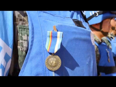 Chinese peacekeepers in Mali awarded UN medal