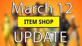 NEW Fortnite Item Shop Update March 12 - Fortnite 8.10 patch Gameplay - Baller Vehicle & New Skins