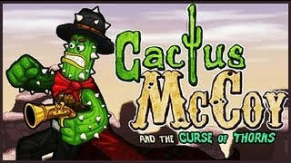 Cactus Mccoy - Flash Game Preview