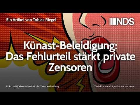 Künast-Beleidigung: Das Fehlurteil stärkt private Zensoren | Tobias Riegel | 24.09.2019