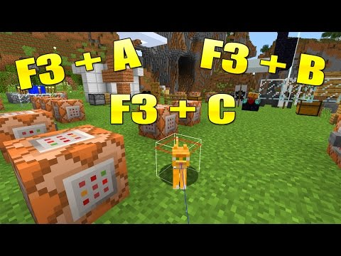 Alle Tastenkombinationen In Minecraft! F3+