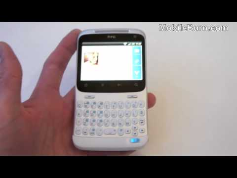 HTC ChaCha video demo from Mobile World Congress