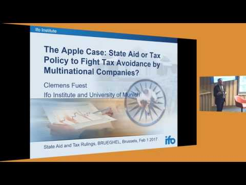 Bruegel event: State Aid and Tax Rulings - 1 February 2017