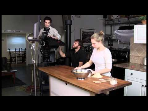 Lighting a TV Kitchen Studio for Making Recipe Videos & Filming Cooking Techniques