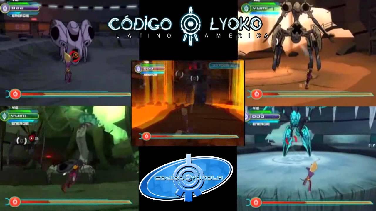 Code Lyoko Quest for Infinity Monstruos  YouTube