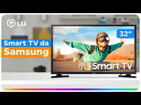 Smart TV HD LED 32 Samsung com Wi-Fi