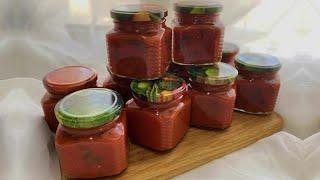 Базиликовый СОУС к мясу Рецепт соуса на зиму