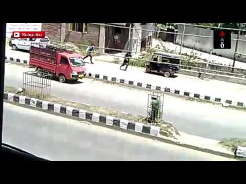 Video Of Militants Fleeing After Killing Cops In Anantnag