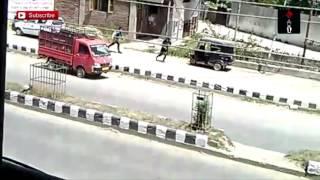 Video Of Militants Fleeing After Killing Cops In Anantnag