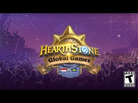Indonesia vs. Sweden - Group A - 2017 Hearthstone Global Games  - Week 7