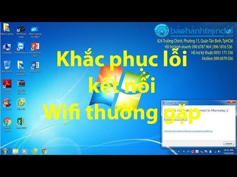 Hướng Dẫn Khắc Phục Tình Trạng Không Kết Nối Được Wifi Khi Password Wifi Thay Đổi