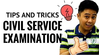 Civil Service Examination Tips Plus Tricks 2018