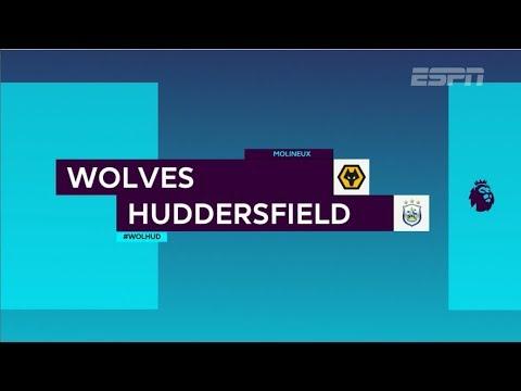 Veja os lances da vitória do Huddersfield por 2x0 contra o Wolverhampton na Premier League