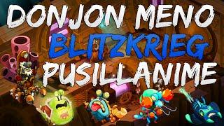 Dofus - Donjon Meno à 8 - Blitzkrieg/Pusillanime - 4 Tours