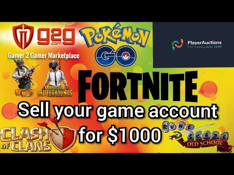 Sell Your PUBG Mobile, Pokemon Go And Other Game Accounts For $1000 On These Trusted Sites Hindi
