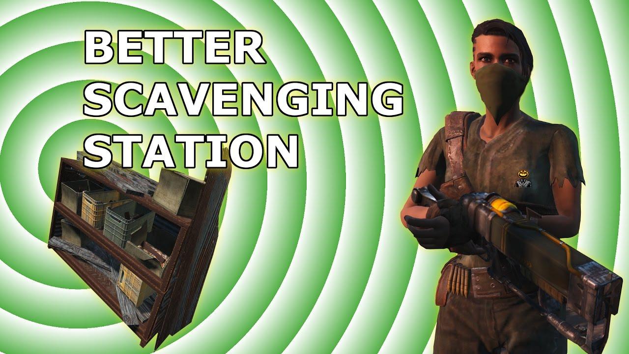 Better Scavenging Stations: Mod Test #1