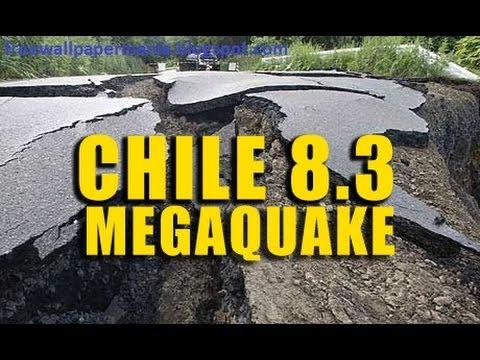 Monster! 8.3 MEGA-QUAKE strikes CHILE, TSUNAMI 7 ft 5 Dead 4.1.14