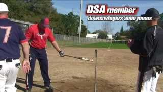 Softball Hitting: Correcting a Downswing brings BIG results Swing Makeover: episode 26