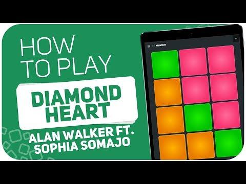Alan Walker – Diamond Heart (ft. Sophia Somajo)   SUPER PADS KIT KINGDOM