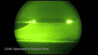 Star-Tron Night Vision Scope Image Intensified Footage LCAC RIMPAC