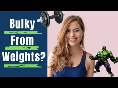 Will Weights Make You Bulky? || Common Fitness Myths