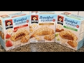Quaker Breakfast Squares: Peanut Butter, Strawberry & Baked Apple Cinnamon Review