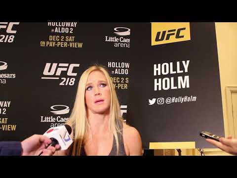 UFC 218 Media Day: Holly Holm talks Cris Cyborg and why she'll never return to boxing