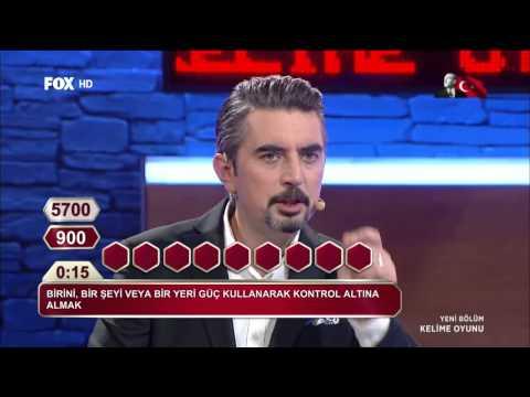 Kelime Oyunu 10 Kasım 2014 Fox Tv  (HD)