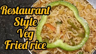 How to make veg fried rice in tamil / Restaurant style / homemade recipe /subscribe our channel 🤗