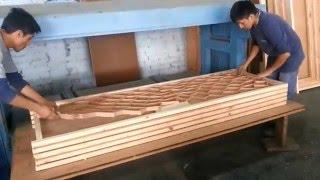 Como hacer marco de madera para puerta contraplacada how for Como hacer una puerta de tambor