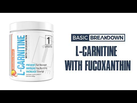 1st Phorm L Carnitine with Fucoxanthin Stim-Free Fat Burner | Basic Breakdown