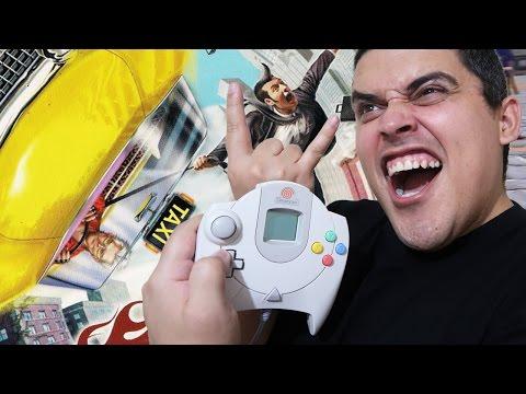 O Taxi Doidão do Dreamcast - Crazy Taxi 2