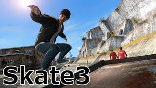 ほぼ垂直の壁を滑るスケーター Skate3実況プレイ Part3