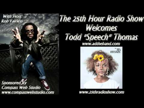 "Todd ""Speech"" Thomas - Arrested Development - Grammy Award Winner - Producer/Songwriter"