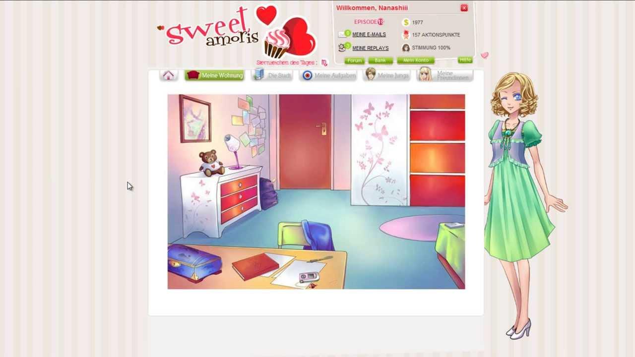 Virtuelles online flirtspiel