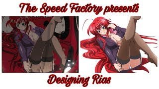 The Speed Factory presents: Designing Rias (The Crew 2)