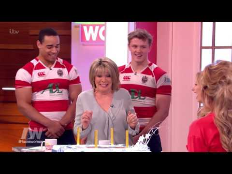 Ruth Gets Carried Away By a Rugby Team   Loose Women