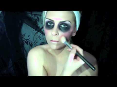Dead prom queen makeup tutorial   YouTube
