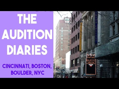 College Audition Diary (+ GETTING INTO NYU TISCH)