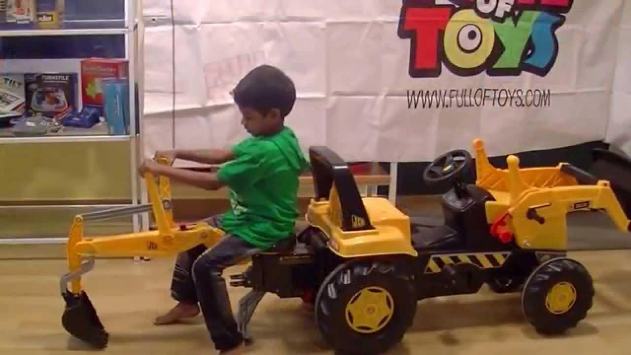 Bruder Jcb Excavator Rolly Toy For Children Youtube